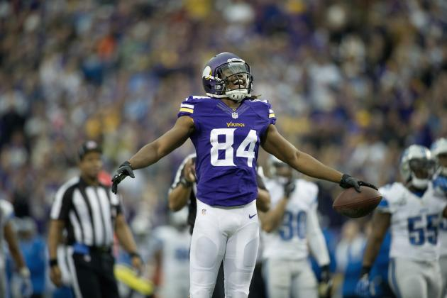 Cordarrelle Patterson and 9 Other Rising Fantasy Football Stars