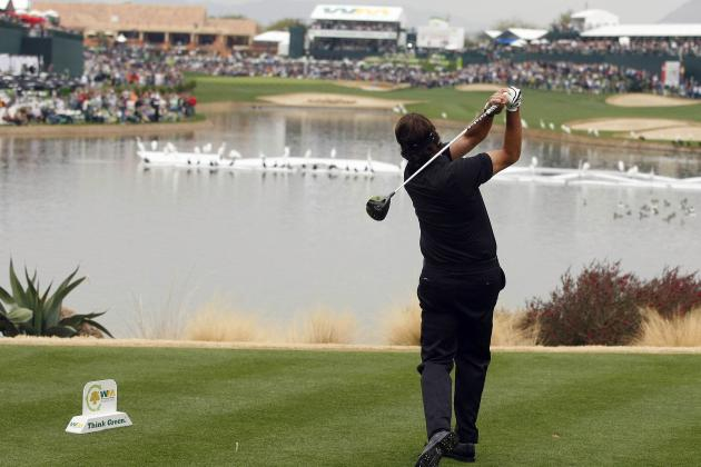 Waste Management Phoenix Open 2014: Daily Leaderboard Analysis, Highlights, More