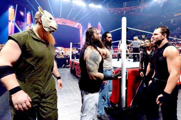 The Shield vs. The Wyatt Family