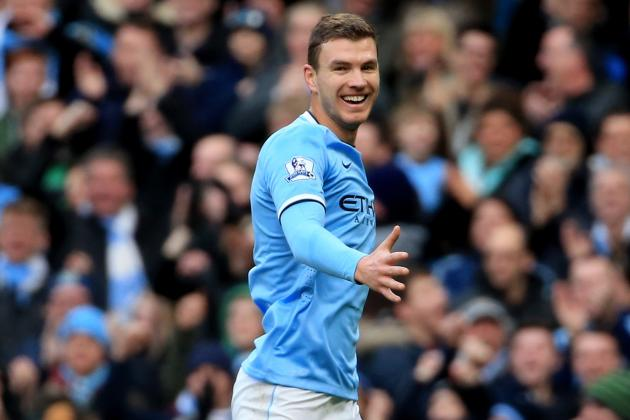 Edin Dzeko Transfer Rumours: Latest News on the Manchester City Star