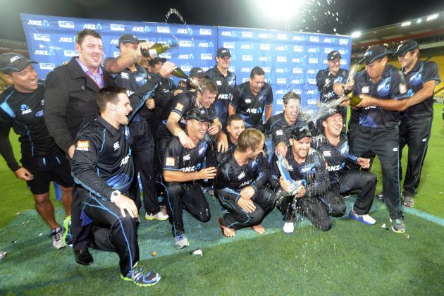 New Zealand vs. India: Ranking All 29 Players Who Played in the 2014 ODI Series