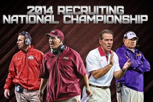 Top 25 Recruiting Classes Heading into National Signing Day 2014