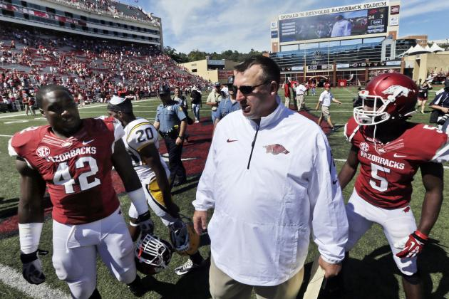 Arkansas Football: Coach Bret Bielema's 3 Biggest National Signing Day Battles