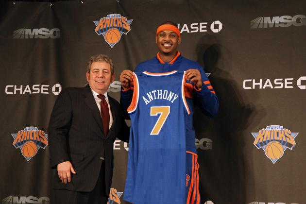 5 Reasons Carmelo Anthony Should Stay with the New York Knicks
