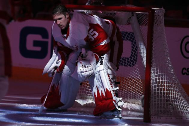 2013-14 Grades for Detroit Red Wings Stars Ahead of the Olympic Break