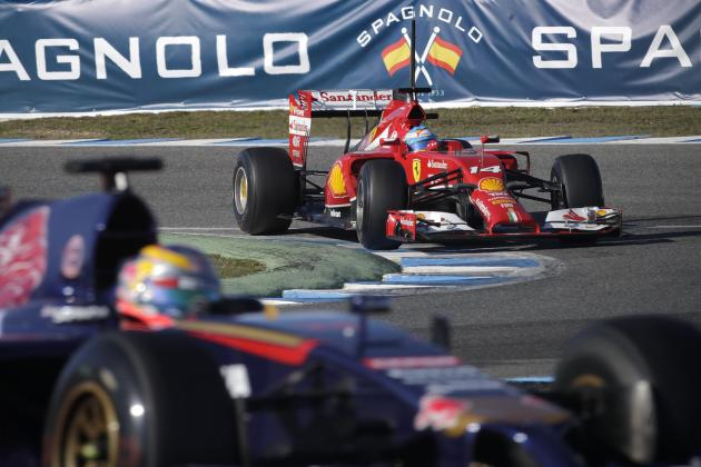 Power Ranking the Formula 1 Teams After Jerez Pre-Season Test