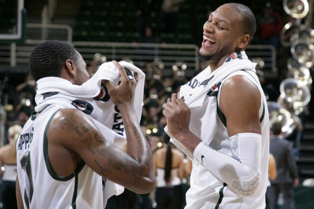 Michigan State Basketball: Report Card for Spartans Midway Through Big Ten Play