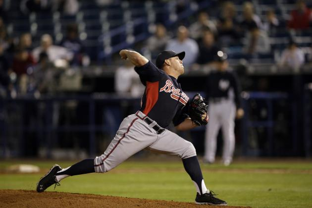 Odds of Atlanta Braves' Top 5 Non-Roster Invitees Making the 2014 Roster