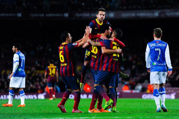Barcelona vs. Real Sociedad: 6 Things We Learned