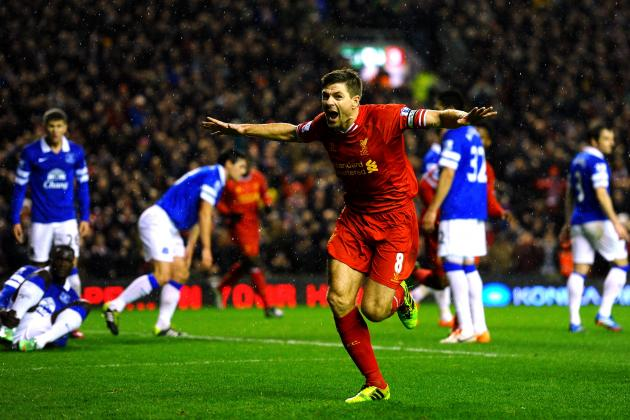 Ranking the Best Seasons of Steven Gerrard's Liverpool Career