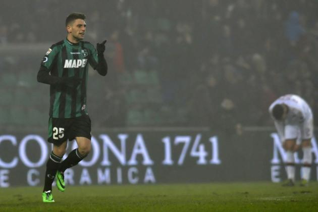 5 Predictions for Domenico Berardi's Juventus Career