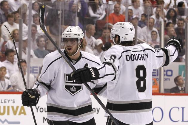 2013-14 Grades for Los Angeles Kings Stars Ahead of the Olympic Break