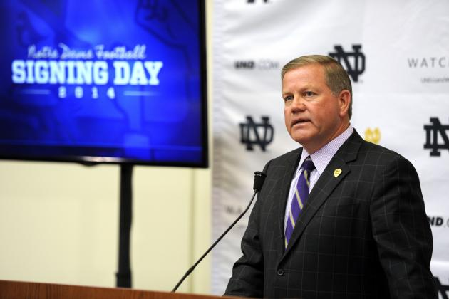 Notre Dame National Signing Day 2014: Position-by-Position Analysis