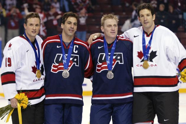 Ranking the 5 Greatest Olympians in Recent Detroit Red Wings History