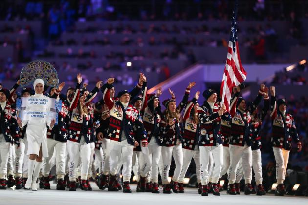 2014 Sochi Winter Olympics Opening Ceremony: Grading Each Country's Uniform