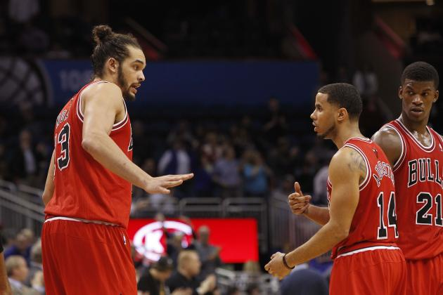 Grading Chicago Bulls' Key Players at 2014 NBA All-Star Break