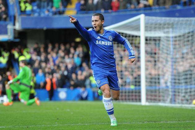 Premier League Player Power Rankings: Hattrick Hazard Stays Top, Sturridge Rises