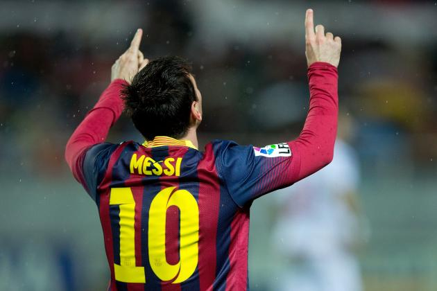 Lionel Messi's Career in 10 Vital Statistics