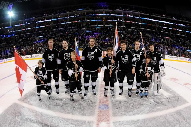 Projected Stats for Each Los Angeles King in Sochi
