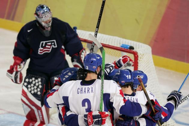 Slovakia vs. USA: Preview and Prediction for 2014 Olympic Hockey Game