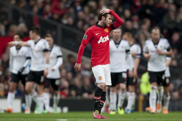 Europe's Biggest Underachieving Clubs: Manchester United and Hamburg Slumping