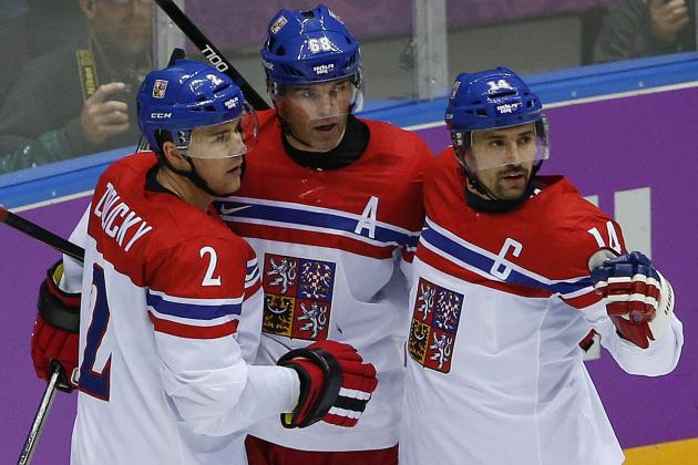 Olympic Hockey 2014: Biggest Takeaways from Day 1 of Men's Tournament