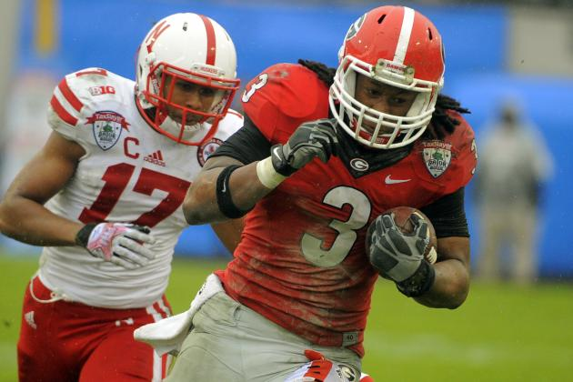 SEC Football: 6 Fastest Running Backs in the Conference