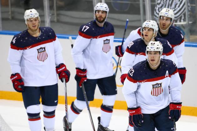 USA vs. Russia: Line-by-Line Breakdown for 2014 Olympic Ice Hockey Game