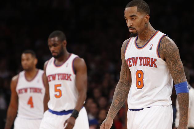 Grading the NY Knicks' Players at 2014 NBA All-Star Break