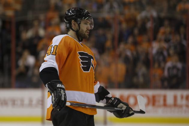 Ranking the Philadelphia Flyers Most Likely to Be Moved at Trade Deadline