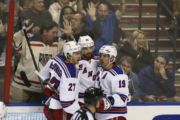 Grades for New York Rangers' Stars at the Olympic Break