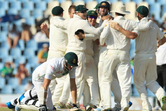 South Africa vs. Australia: Player Ratings for Baggy Greens After 1st Test