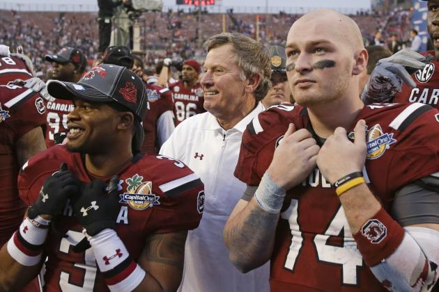 Imagining What South Carolina's Starting Lineup Will Look Like in 3 Years