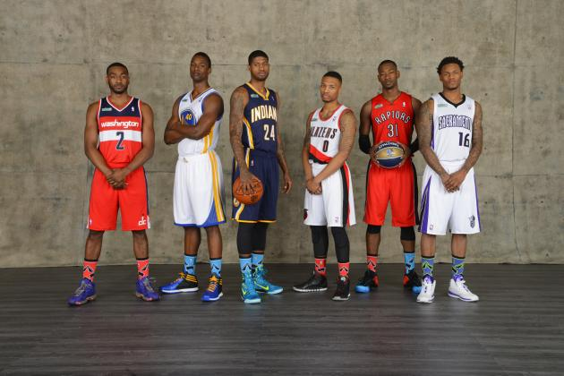 NBA Slam Dunk Contest 2014: Grading Every Dunk and Every Participant