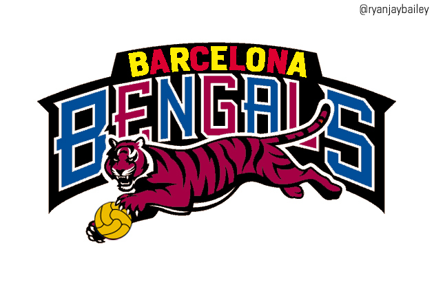 Creating NFL-Style Logos for the World's Top Football Clubs