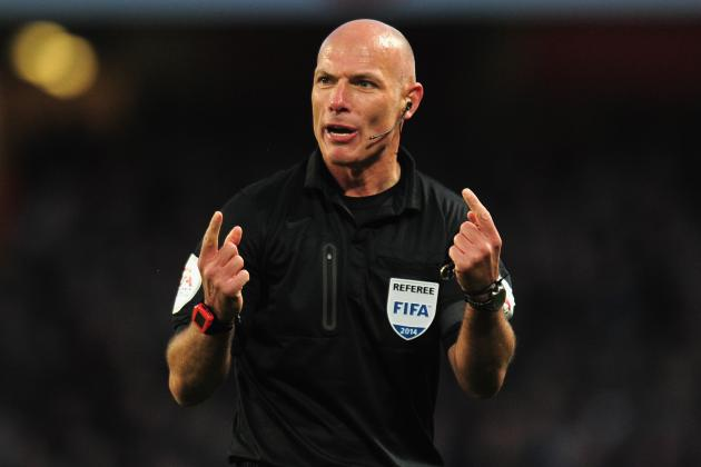 5 Controversial Decisions Involving Liverpool and Referee Howard Webb