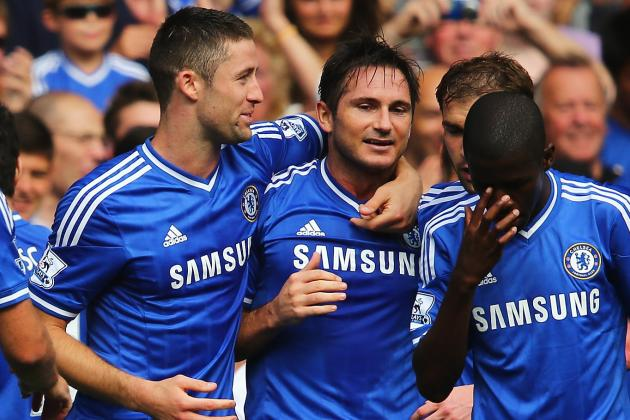 Ranking the Best Seasons of Frank Lampard's Chelsea Career