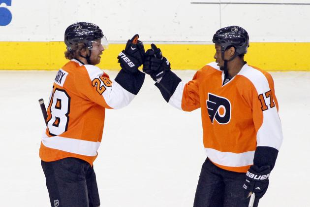 Ranking Philadelphia Flyers' 5 Most Impressive Players in 2013-14