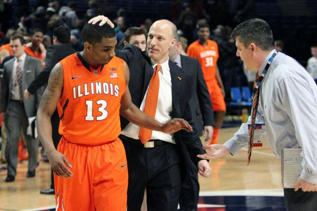Illinois Basketball: Stock Up, Stock Down for Fighting Illini Starters