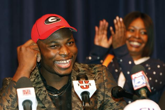 Georgia Football: What Bulldogs Fans Should Expect from Lorenzo Carter in 2014