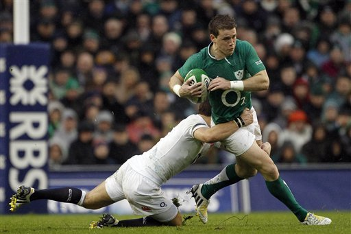 Six Nations 2014: 10 Greatest Tries in England vs. Ireland History