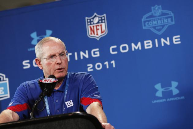 New York Giants' Round 1 Big Board Ahead of NFL Combine