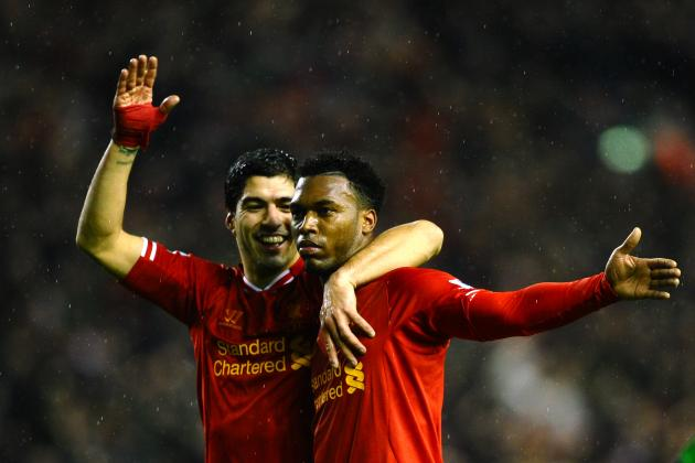 Where Do Suarez and Sturridge Rank in List of Great Liverpool Strike Duos?
