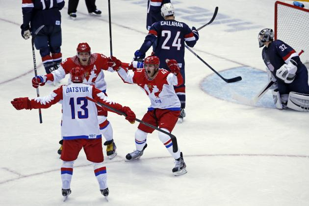 Olympic Hockey 2014: Stock Watch for Top Superstars in Sochi