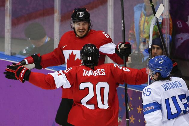 Grades for Every Los Angeles King at the 2014 Olympics so Far