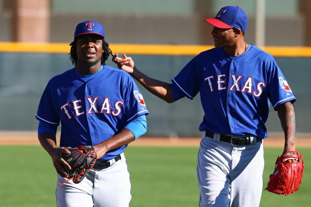 5 Rangers Who Could Break Out in Spring Training, Have Shot at 25-Man Roster