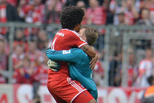 Bayern Munich's Manuel Neuer and the Best Goalkeeper Celebrations