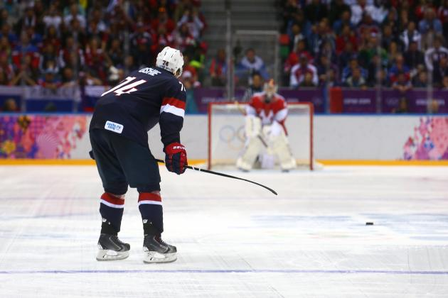 Team USA vs. Czech Republic: Preview and Prediction for 2014 Olympic Hockey Game