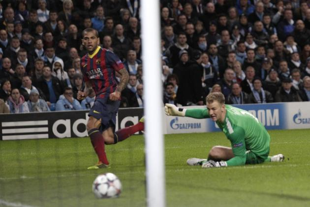 Winners and Losers from Champions League Last 16 First Leg