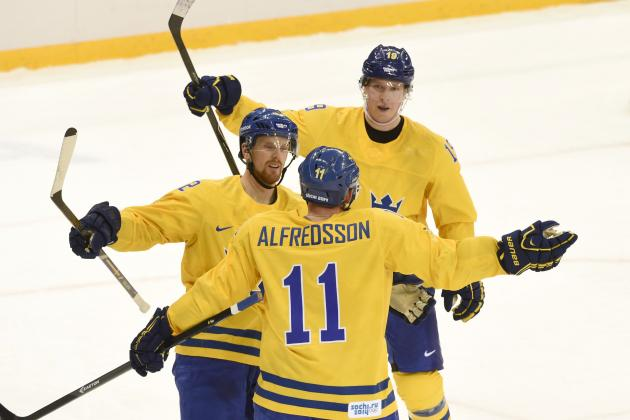 Sweden vs. Finland: Line-by-Line Breakdown for 2014 Olympic Semifinal Game